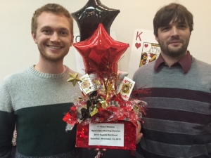 Bennet Goeckner & Rob Bradford claimed a first place in the 199er game.